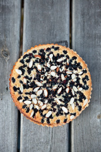 Almond and Mulberry Tart