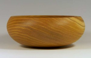 A Bowl Made from Mulberry Wood