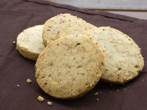 Anise Hyssop Butter Cookies