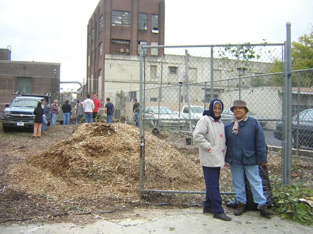 Norris Square planting